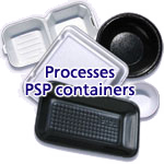 process PSP containers